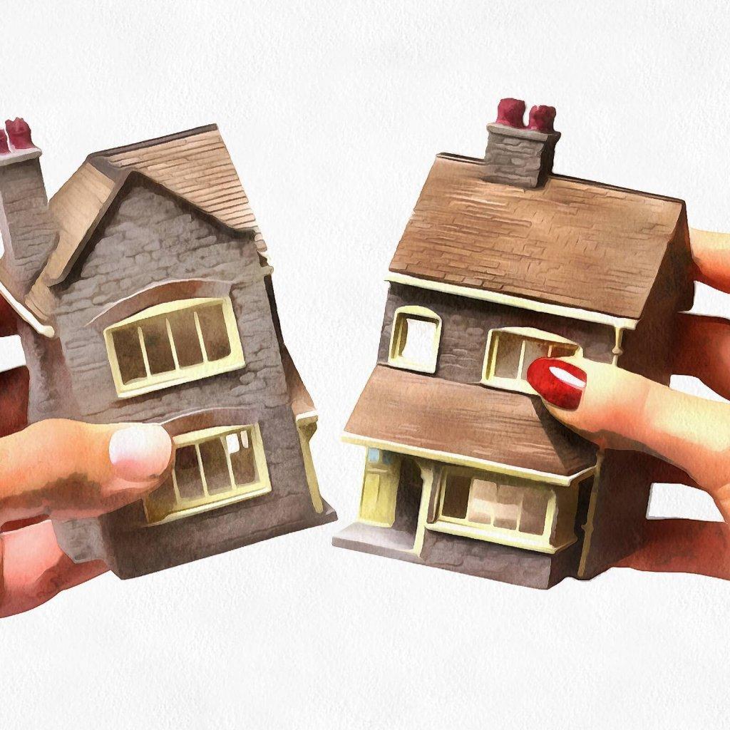 Определение долей собственности в квартирах и домах
