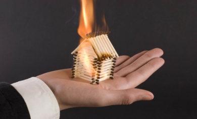 Взыскание страхового возмещения и компенсации морального вреда после пожара